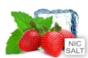 Happy Liquid Erdbeer-Menthol Nik Salt